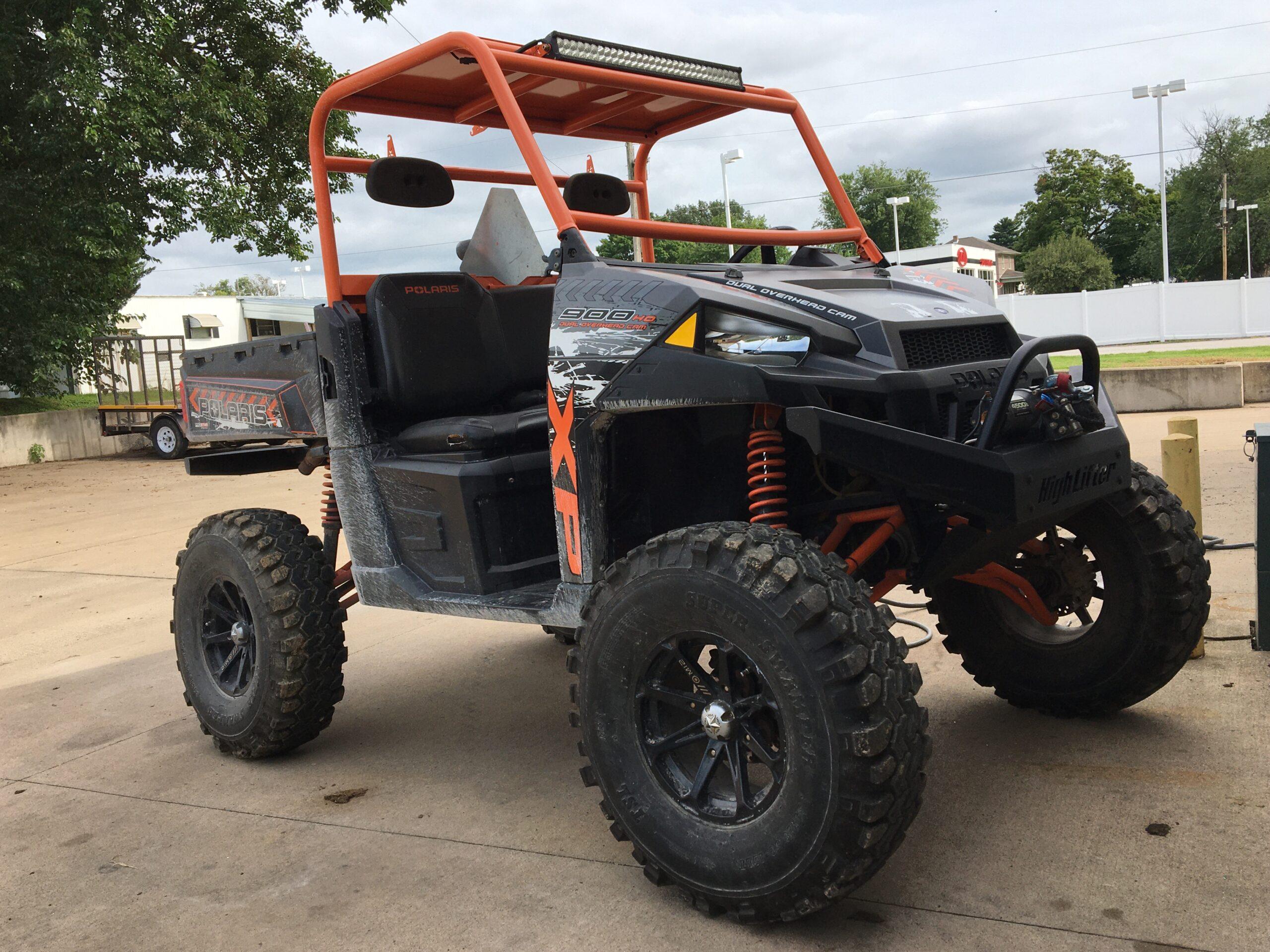 ATV Orange